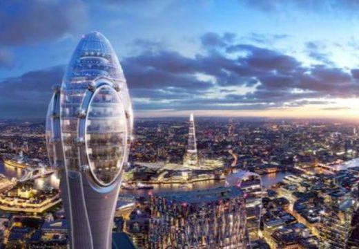 """Започва строителството на """"Лалето"""" в Лондон"""