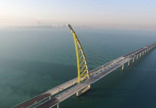Най-дългият мост в света бе открит в Кувейт