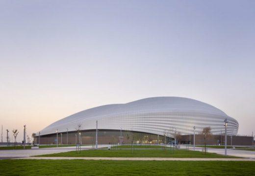Стадионът на Заха Хадид в Катар е готов