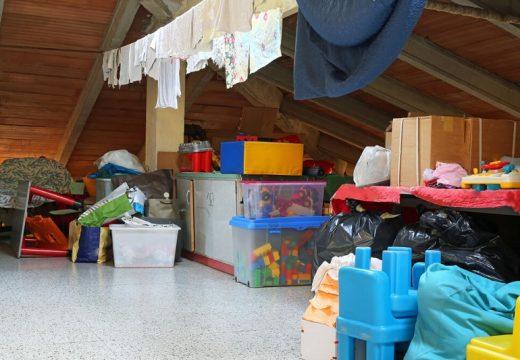 Как да почистим и организираме таванското помещение