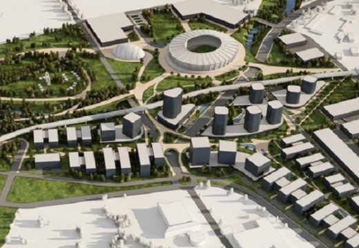 Предложение: Новият национален стадион на летище София