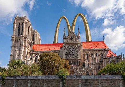 8 от най-ужасяващите архитектурни предложения за Нотр Дам