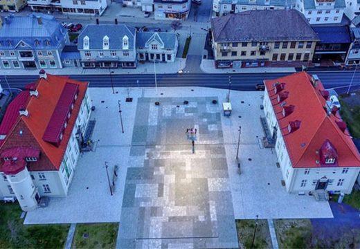 Мракът става ден в малък норвежки град