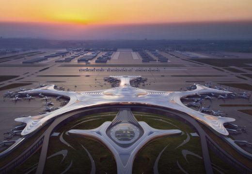 Архитекти показаха терминал на летище с формата на снежинка