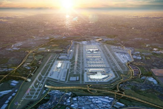 """Разширяват летище """"Хийтроу"""" с още една писта"""