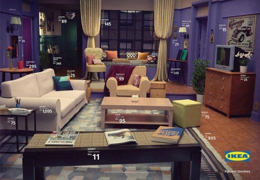 Икеа пресъздаде стаите от известни сериали