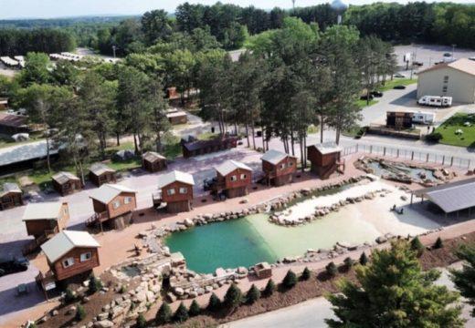 Природен парк-курорт с естествен басейн