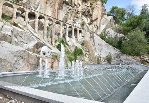 Пловдив се похвали с нов красив фонтан (снимки)