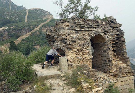 Великата китайска стена се топи