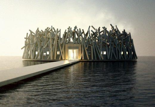 Нов плаващ хотел в Швеция приема резервации