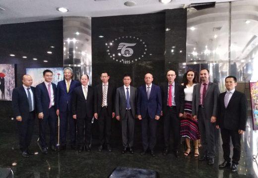 Делегация от Китайската строителна банка посети БТПП