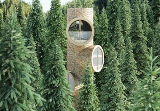 Модулна къща расте на височина и ширина