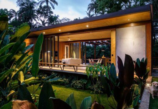 Дървен дом в Бразилия използва биоклиматичните принципи