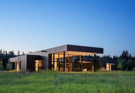 Модерен и луксозен дом на слънчева енергия