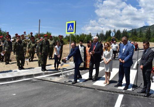 Завърши строителството на кръговото кръстовище на Подбалканския път