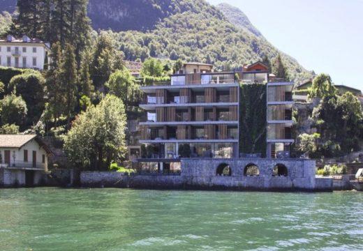 Огромна зелена стена расте по италиански хотел
