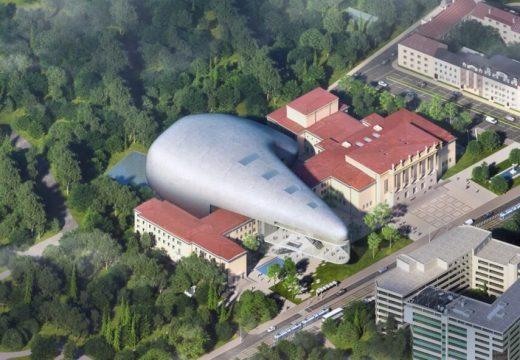 Концертна зала на слънчева енергия в Чехия