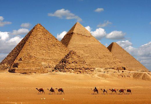 Египетските пирамиди строени с метал от Черноморския район