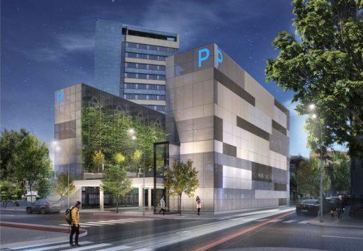 Пловдив със супер модерен вертикален паркинг?