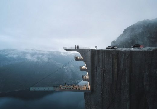 Бихте ли отседнали в този хотел надвесен от скала