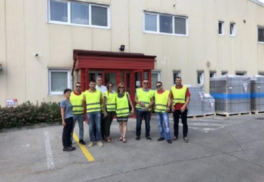 Победители от BUILDINSTYLE 2018 посетиха завода на Hoval в Словакия