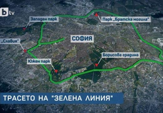 Архитекти предлагат зелено околовръстно за София