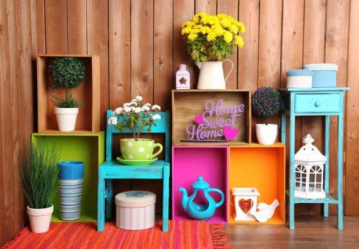 Цветни идеи с органайзери за дома