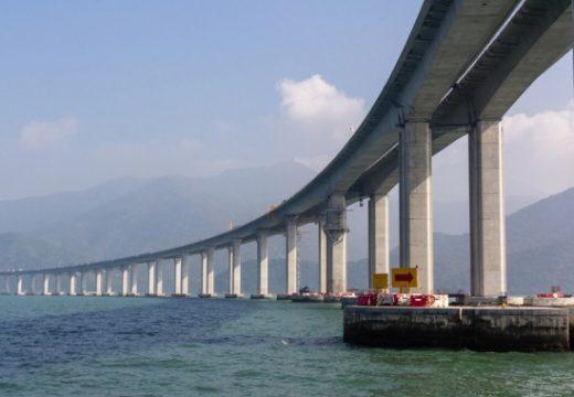Китай построи най-дългия мост за ж.п. и автотранспорт