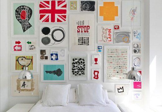 Как да превърнем празната си стена в домашна галерия