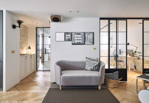Дом е пример за скандинавския интериорен дизайн