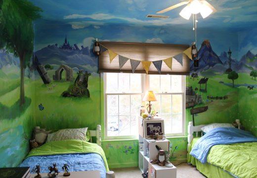 Момиче изрисува стаята на сестричката си и резултата е вълшебен!