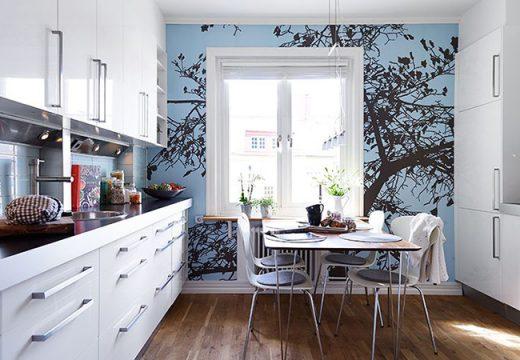5 лесни идеи за декорация на кухненска стена