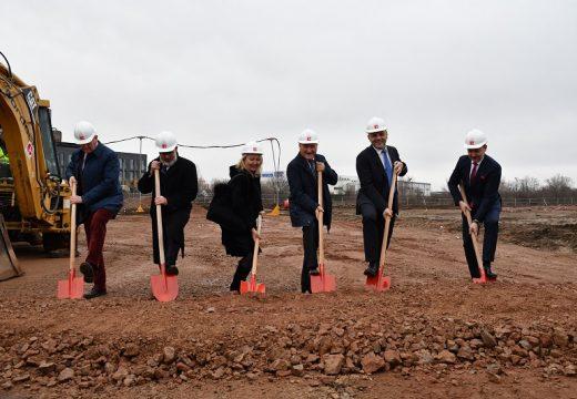 Започва строителство на нов модерен административно-логистичен комплекс
