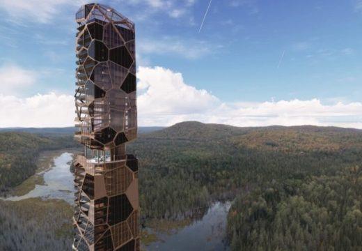 Футуристична кула ще се извиси над гората в Квебек