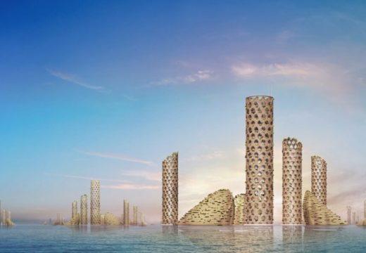 Luca Curci Architects представиха град на бъдещето