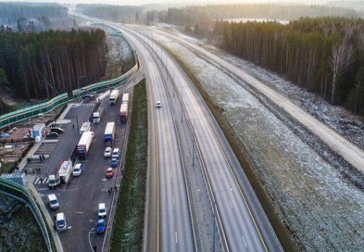 7 факта за новата магистрала свързваща Москва и Санкт Петербург