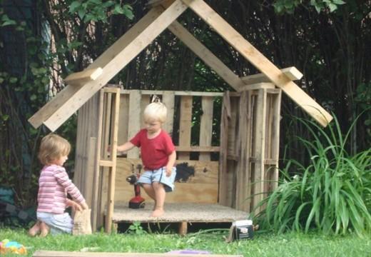 20 идеи за детски къщи за игра