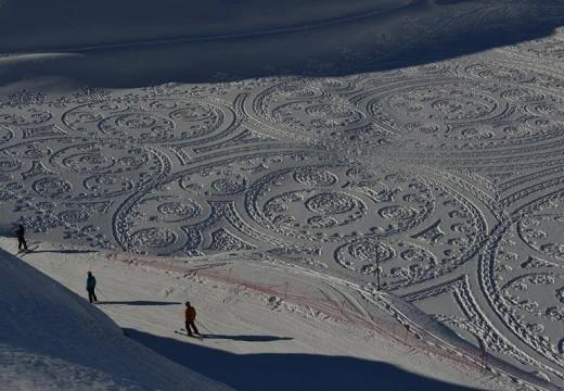 60 рисунки в снега