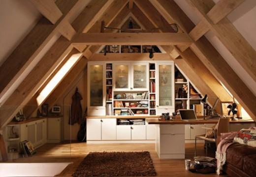 Идеи за тавански помещения