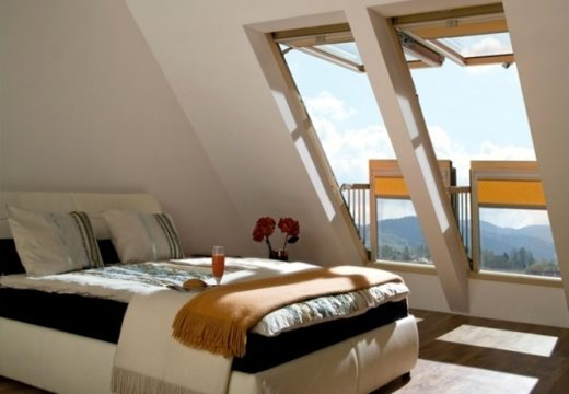 44 романтични тавански спални