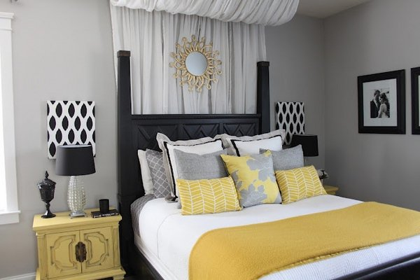 modern-bedroom-interior-grey-and-yellow-bedroom-decor-black-accents