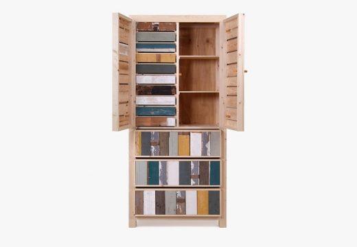 """Дървени мебели """"втора употреба"""" и техния творец"""
