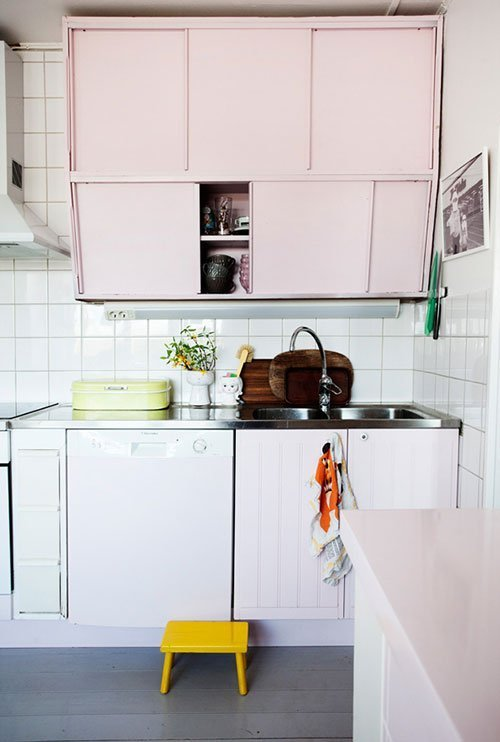 pink kitchen 4