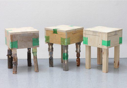Направете си сами дървени мебели с пластмасови бутилки (видео)