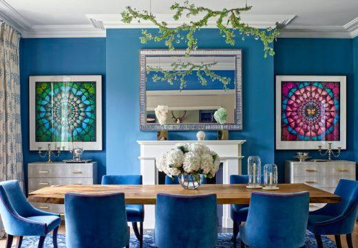 Цветният дом на Надя Сваровски до Лондон