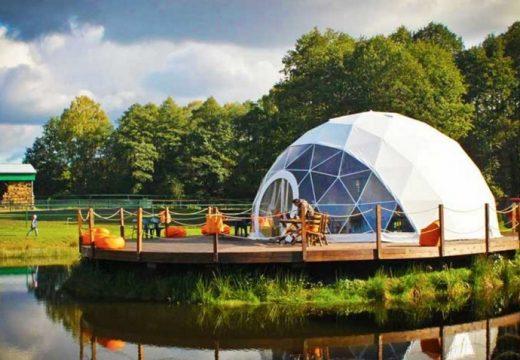Направете си ваша куполна къщичка, която може да пренесете навсякъде