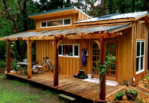 Йога учител построи специална къща за медитация