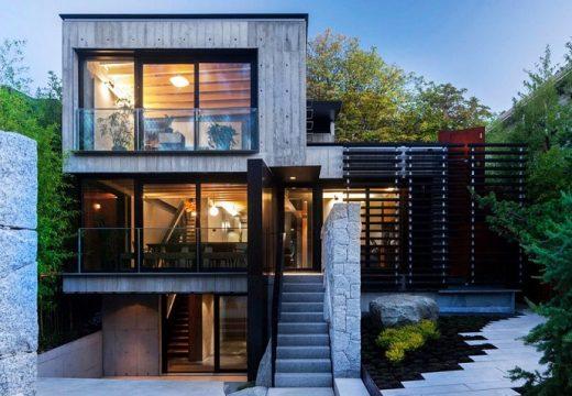 Супер модерен дом построен от строителни отпадъци