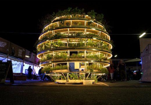 Зеленчукова градинка в центъра на града