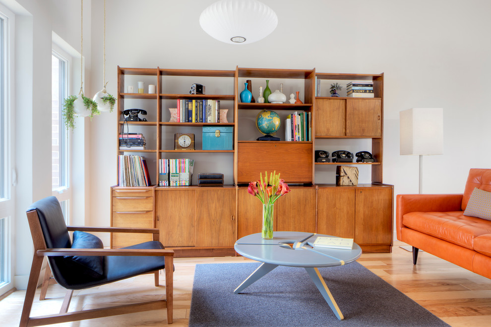 vintage-mod-furniture-living-room-scandinavian-with-round-wood-coffee-table-wood-floors-7